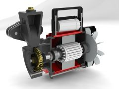 texmo-mono-block-pump-design-using-solidworks